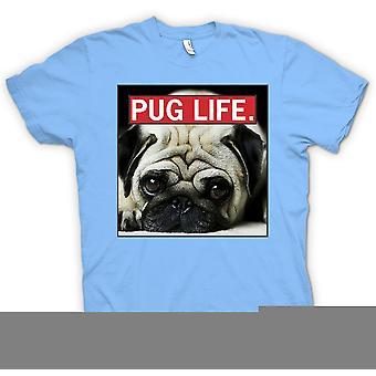 Kids T-shirt - Pug Life - Super Cool And Living The Pug Life