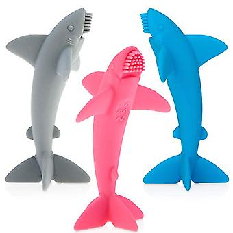 Baby Accessories - Nuby - Shark Massaging Toothbrush Vary Color New 7341
