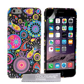 YouSave Accessories iPhone 6 Plus and 6s Plus Jellyfish Silicone Gel Case