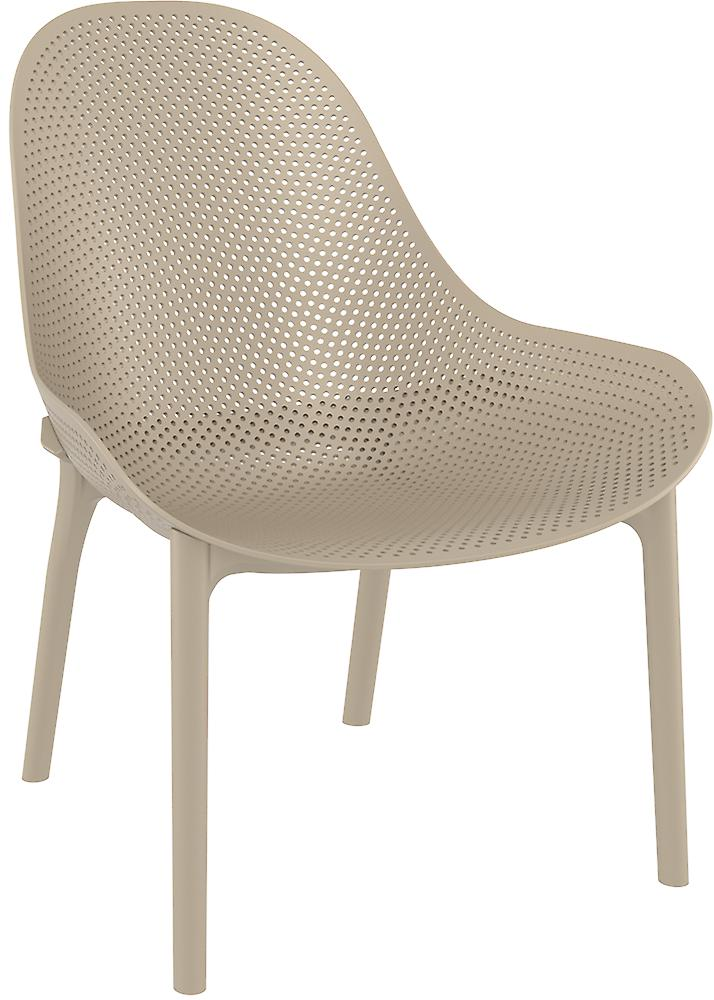 plage7   Sky lounge chair    Taupe   tuinstoelen