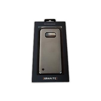 Granite Hybrid Slim Chain Veil Case for Samsung Galaxy S8 Plus - Silver