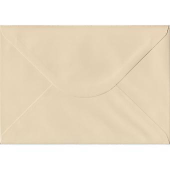 Cream Gummed C5/A5 Coloured Cream Envelopes. 100gsm FSC Sustainable Paper. 162mm x 229mm. Banker Style Envelope.