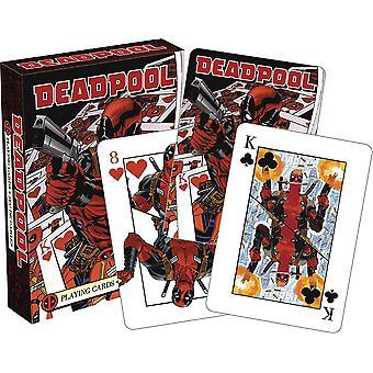 Playing Card - Deadpool - Mirror Poker New 52565
