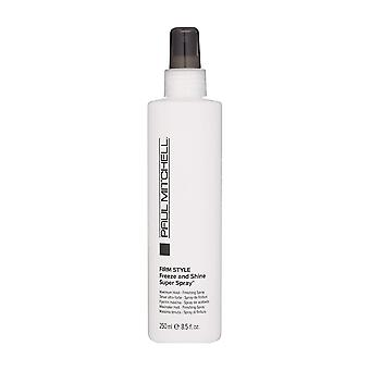 Paul Mitchell bevriezen & Shine Super spray, 8,5 oz