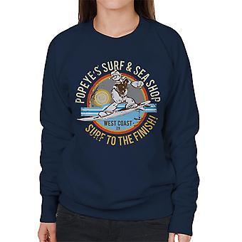 Popeye Surf Sea Shop Women's Sweatshirt