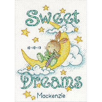 Sweet Dreams Birth Record Counted Cross Stitch Kit 5