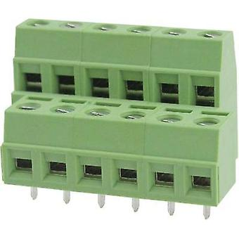Screw terminal 2.08 mm² Number of pins 4 DG127A-5.08-04P-14-00AH Degson Green 1 pc(s)