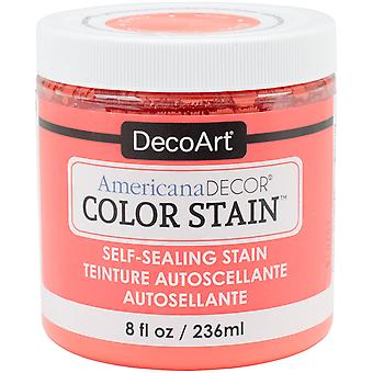 Americana Decor Color Stains 8oz-Coral ADCS-08