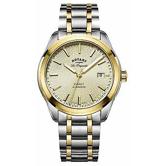 Rotary Mens Les Originales Legacy Automatic Two Tone GB90166/03 Watch