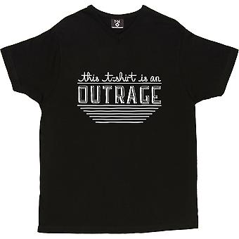 This T-Shirt Is An Outrage Men's T-Shirt