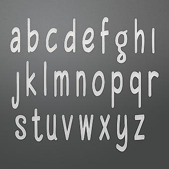 Couture Creations Alpha-Numeric Die-Smooth Lowercase, Letter Size: .28