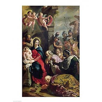 Adoration of the Magi Poster Print by Philippe De Champaigne