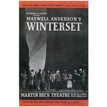 Winterset (Broadway) elokuvajuliste (11 x 17)
