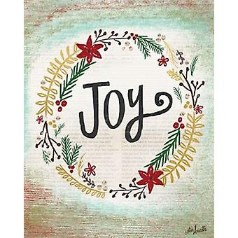 Joy Wreath II Poster Print by Katie Doucette