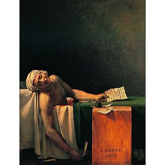 MaratS Death Poster Print