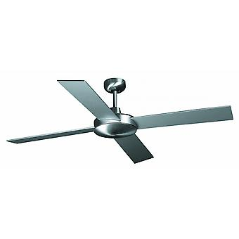 Faro Ceiling Fan Mallorca nickel matt 132 cm / 52