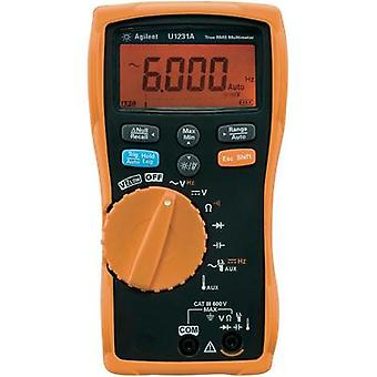 Handheld multimeter digital Keysight Technologies U1231A Calibrated to: Manufacturer standards CAT III 600 V Display (c