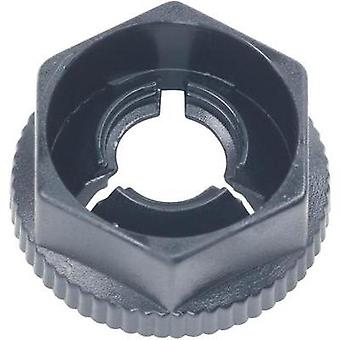 PB Fastener KN50 Plug-in Nut Black (Ø x H) 11.7 mm x 5.8 mm