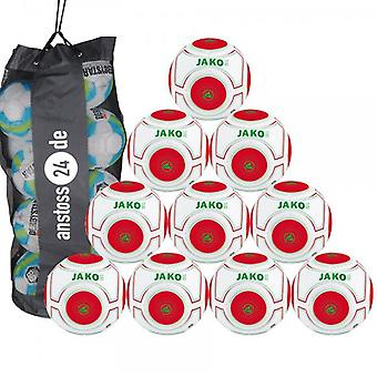 10 x James game and training ball match turf 3.0 includes ball sack