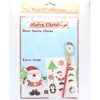 Write To Santa Letter Pack A4 Size