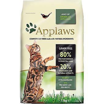 Applaws kat tør Adult kylling med lam 7,5 kg