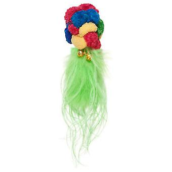 Chomper Premier Puff Ball Feathered Cat Tails (Cats , Toys , Plush & Feather Toys)