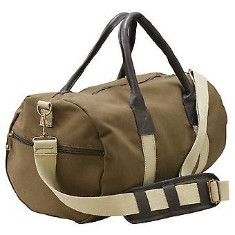 قماش حقيبة جلدي حقيبة كتف الصالة الرياضية