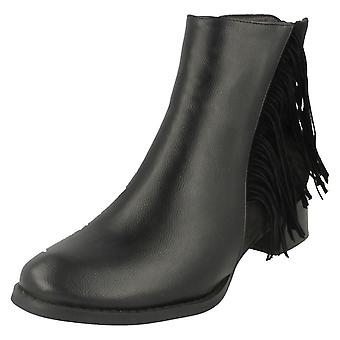 Lugar de damas en franja Zip Boot