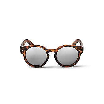 Cheapo Burn Sunglasses - Turtle Brown / Silver Mirror