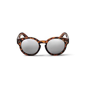 Cheapo Burn solglasögon - sköldpadda brun / Silver spegel
