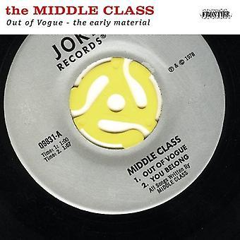 Middelklasse - ud af Vogue-den tidlige materiale [CD] USA import