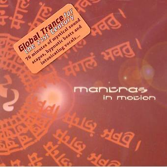Mantraer i bevægelse - mantraer i bevægelse [CD] USA importerer
