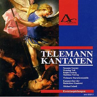 Telemann / Scholl / Vieweg - kantater [CD] USA import