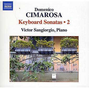 D. Cimarosa - Domenico Cimarosa: Klaversonater, Vol. 2 [DVD] USA import