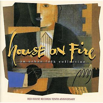 Hus på brand - hus på brand-Urban folkemusik Colle [CD] USA import