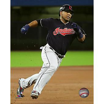 Edwin Encarnacion 2017 Action Photo Print