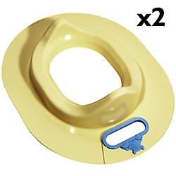Baby - Winnie The Pooh Toilet Trainer Seat - Pack Of Two - Yellow