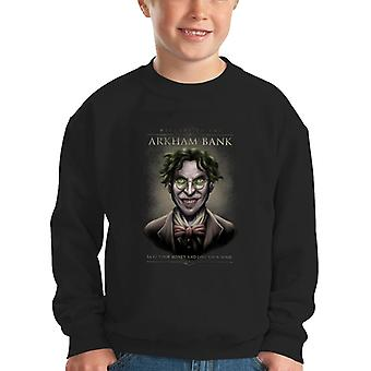 Batman Arkham Bank Kinder Sweatshirt