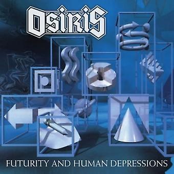 Osiris - Futurity & menneskelige depressioner [CD] USA importerer