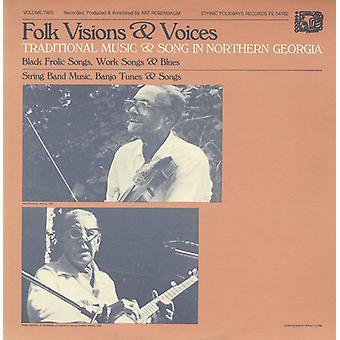 Folk Visions & Voices - Folk Visions & Voices: Vol. 2-Traditional Music & Song in Northern Georgi [CD] USA import