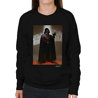 Star Wars Behind The Scenes Darth Vader Women's Sweatshirt