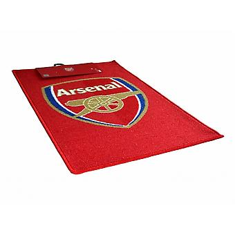 Arsenal FC Official Football Crest Rug
