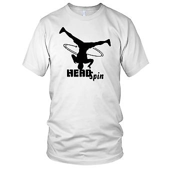Kopf drehen Breakdance Hip Hop Kinder T Shirt