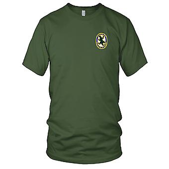 US Armee - 9th Military Police Company Vietnam gestickt Patch - Damen T Shirt