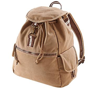 Quadra Vintage Canvas Backpack - 18 Litres