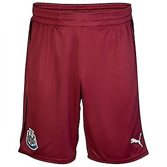 2012-13 Newcastle Puma Auswärts Shorts (Kinder)