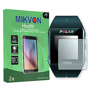 Polar V800 Screen Protector - Mikvon Health (Retail Package with accessories) (intentionally smaller than the display due to its curved surface)