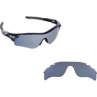 Geventileerde Radarlock pad vervanging lenzen zwart Iridium door SEEK past OAKLEY