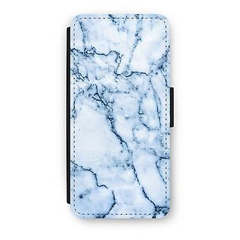 iPhone 5c Flip Case - Blue marble