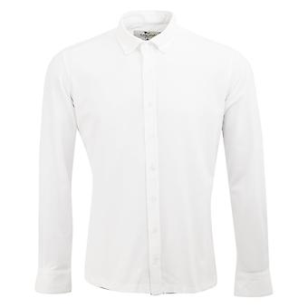 Claudio Lugli Long-Sleeved Stretch Jersey Cotton Mens Shirt